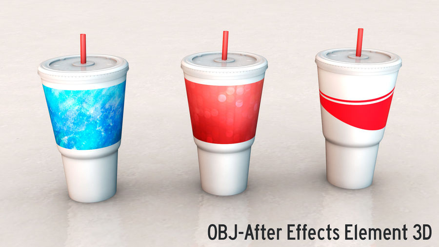 Beverage Cup royalty-free 3d model - Preview no. 14