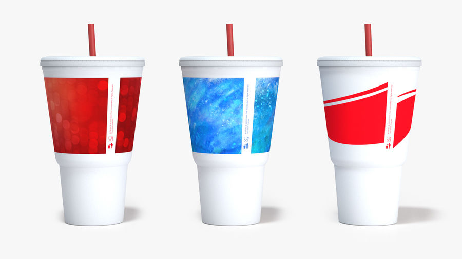 Beverage Cup royalty-free 3d model - Preview no. 5