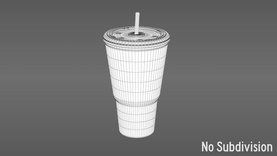 Beverage Cup royalty-free 3d model - Preview no. 9