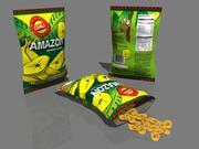 Banan Chips 3d model