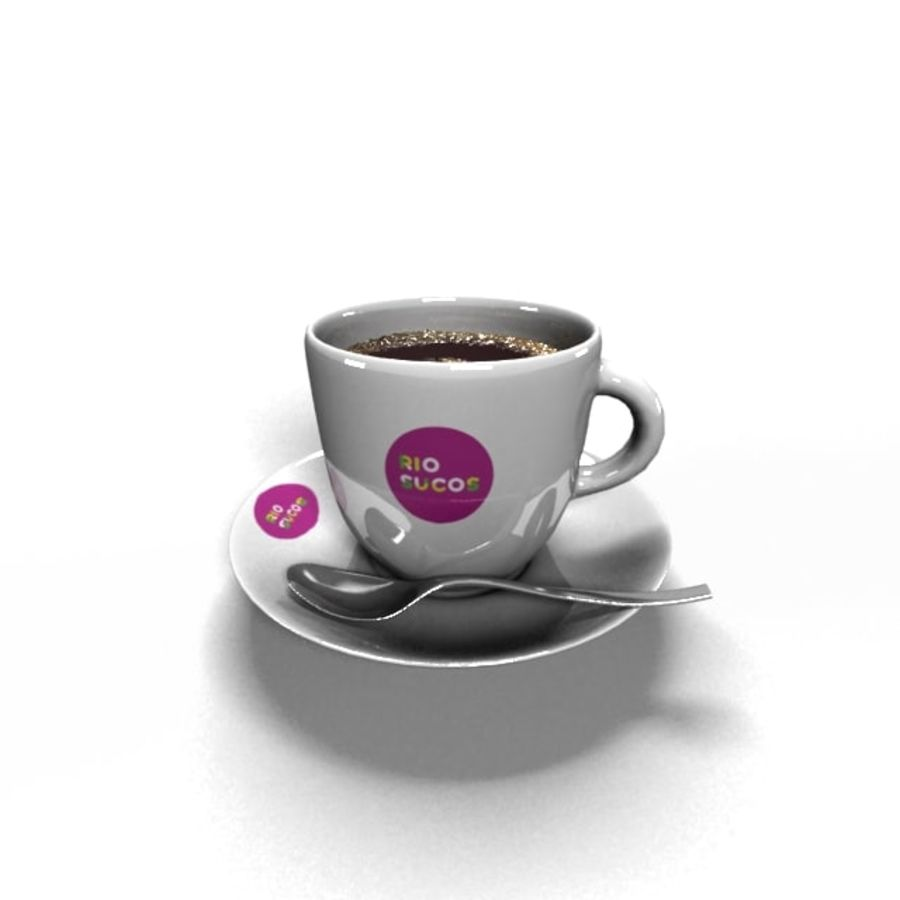Kaffeetasse royalty-free 3d model - Preview no. 1