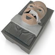Shakespeare Kutu Mendil 3d model