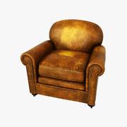 切斯特菲尔德扶手椅 3d model