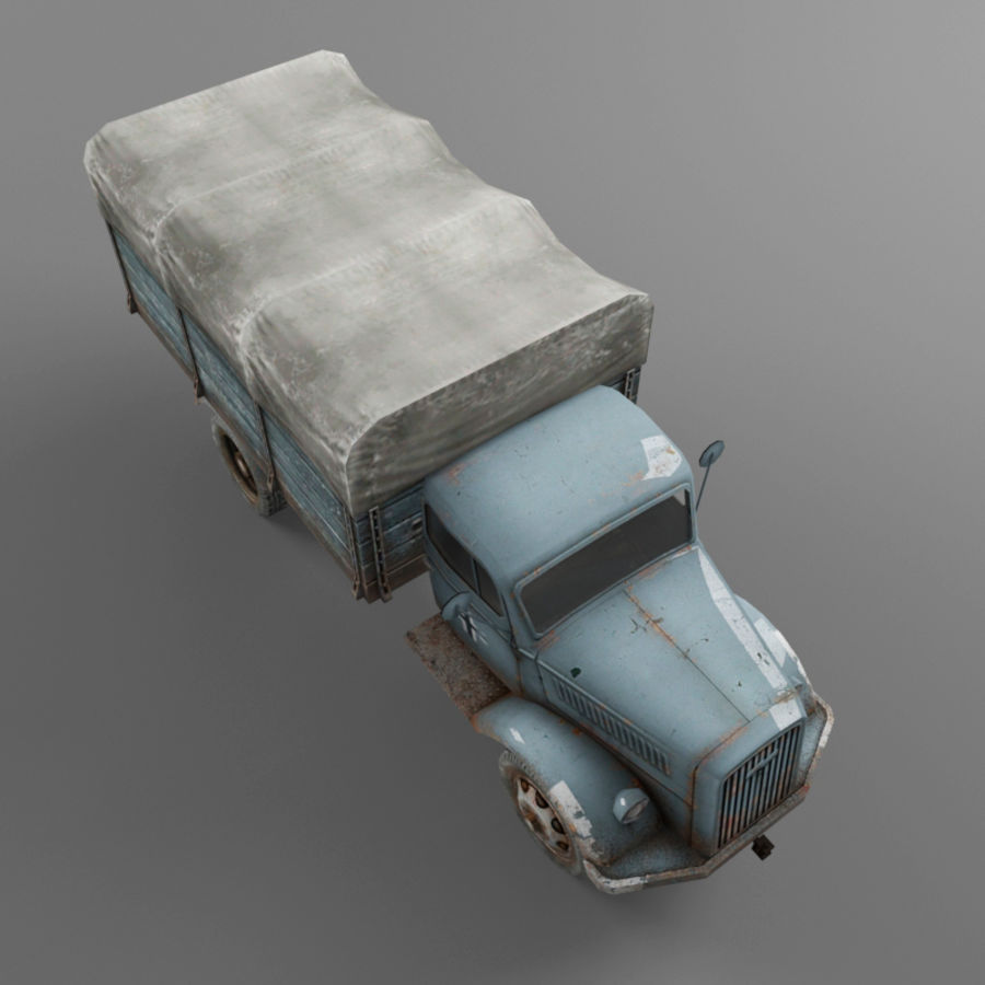 Opel Blitz royalty-free 3d model - Preview no. 37