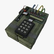 С4 Бомба 3d model