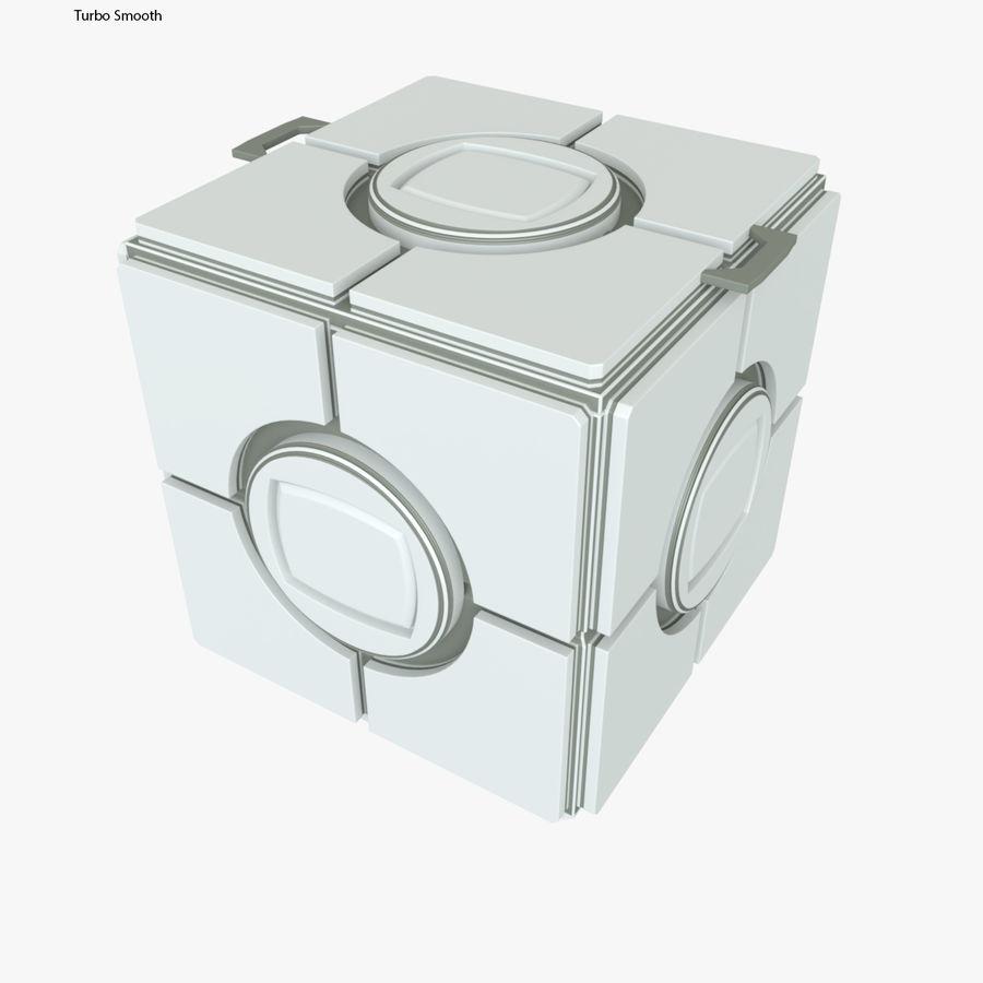 Box B royalty-free 3d model - Preview no. 6