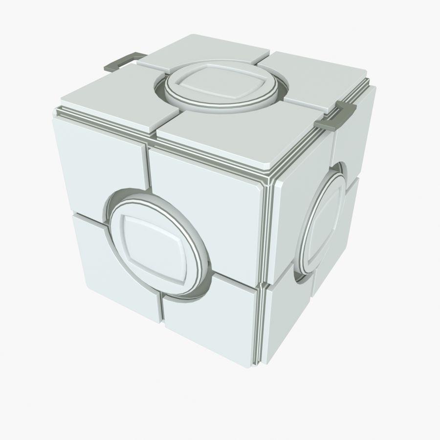 Box B royalty-free 3d model - Preview no. 5