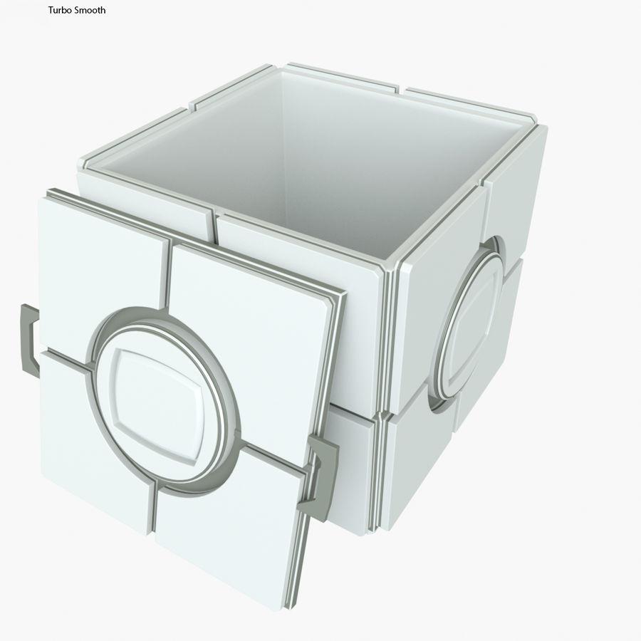 Box B royalty-free 3d model - Preview no. 4