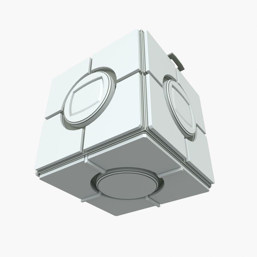 Box B royalty-free 3d model - Preview no. 7