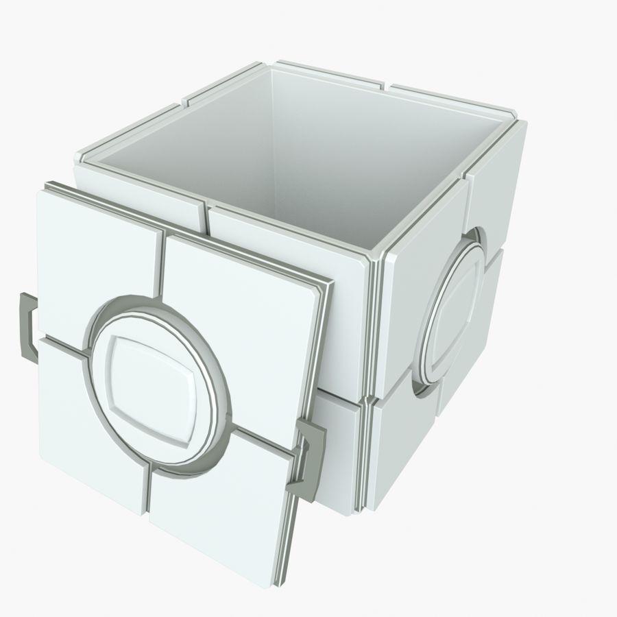 Box B royalty-free 3d model - Preview no. 3