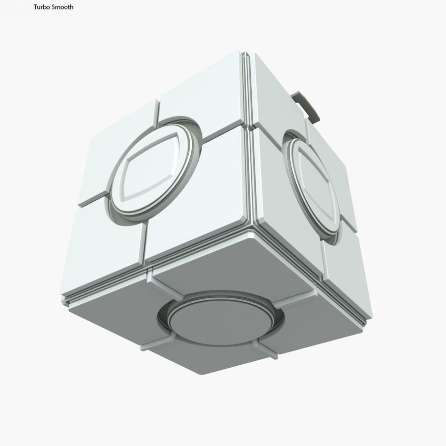 Box B royalty-free 3d model - Preview no. 8