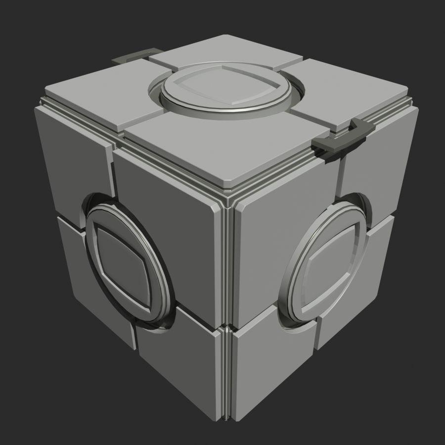 Box B royalty-free 3d model - Preview no. 2