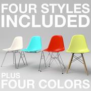 Eames Chairs Vol. 1 3d model