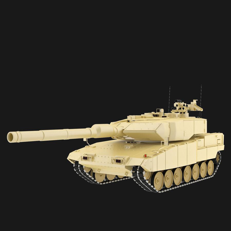 Leopard 2A7 3D Model $39 -  max  fbx  3ds - Free3D