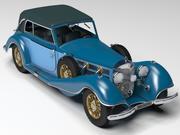 Old Car 2 3d model