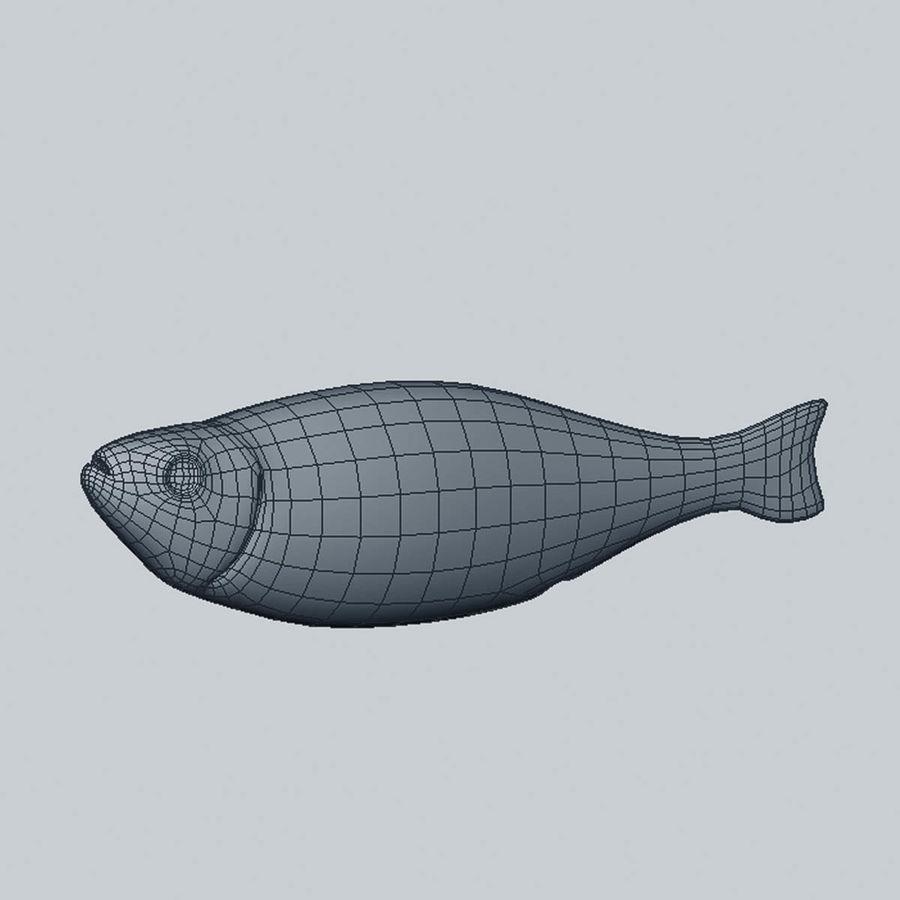 鲱鱼 royalty-free 3d model - Preview no. 6