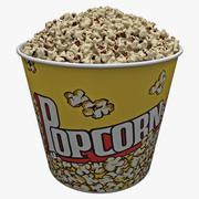 Popcorn Bowl 3 3d model