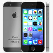 Iphone 5s All Colours 3d model