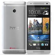 Htc One Mini White 3d model