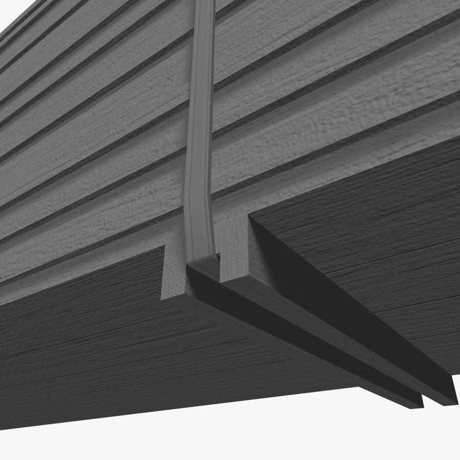 Pilha de madeira serrada royalty-free 3d model - Preview no. 18