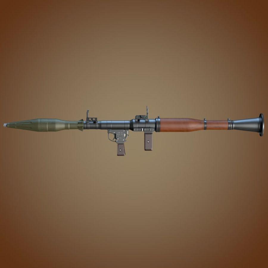 RPG-7 Granatwerfer royalty-free 3d model - Preview no. 4