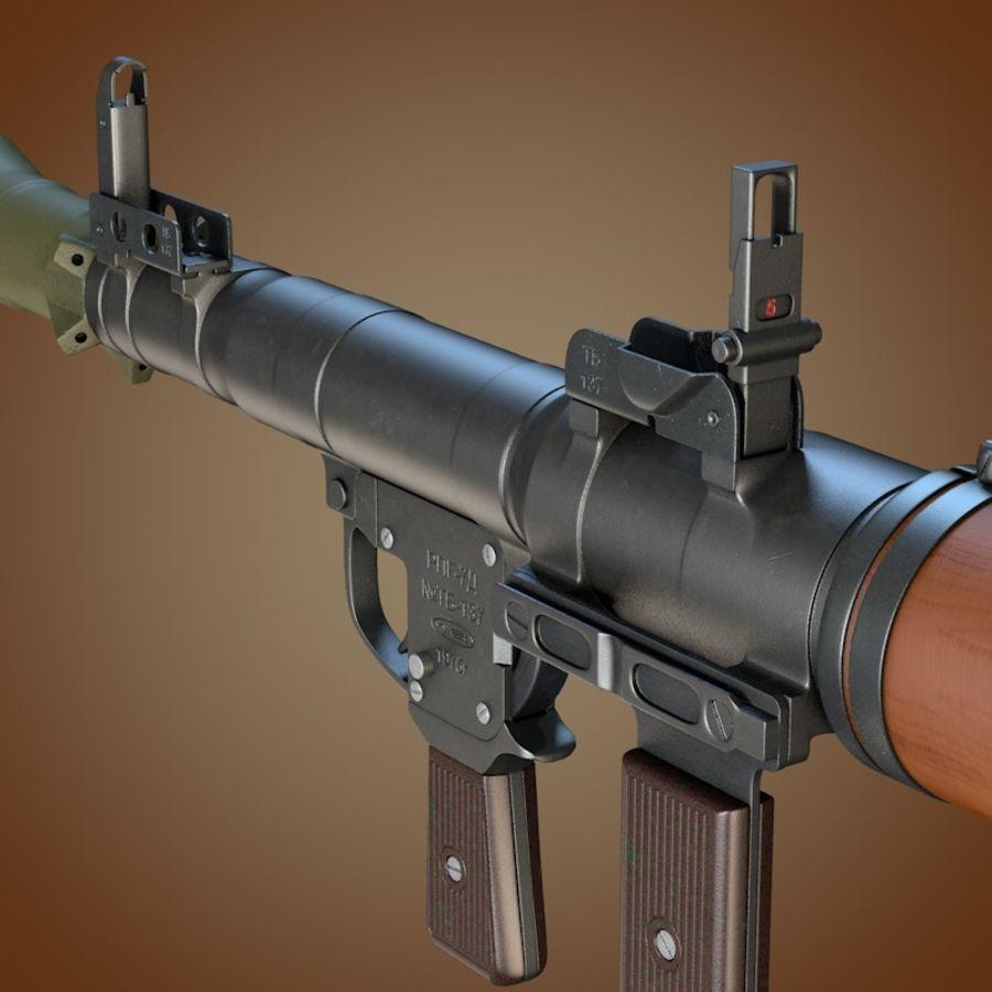 Lanciagranate RPG-7 royalty-free 3d model - Preview no. 5