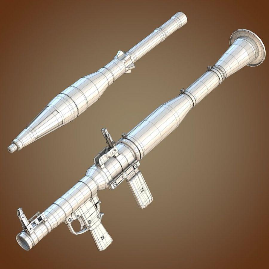 RPG-7 Granatwerfer royalty-free 3d model - Preview no. 8