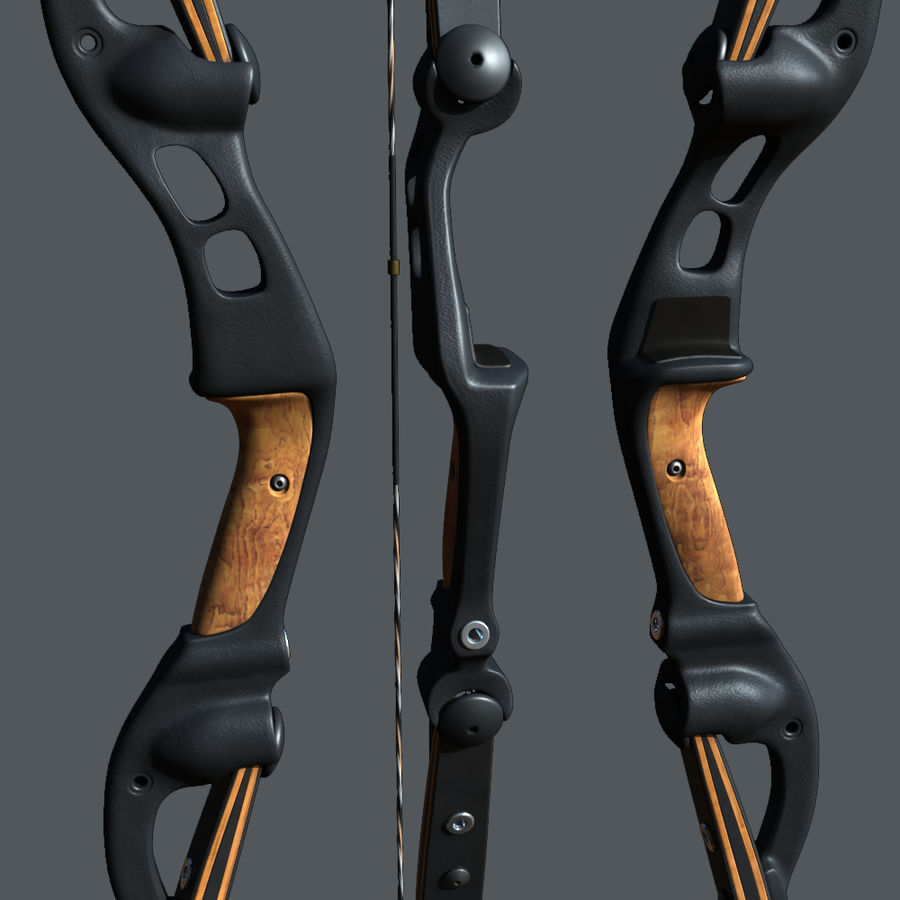 bow royalty-free 3d model - Preview no. 3