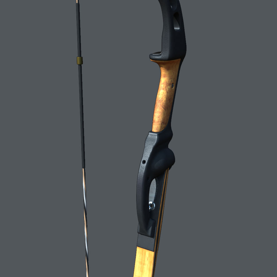 bow royalty-free 3d model - Preview no. 4