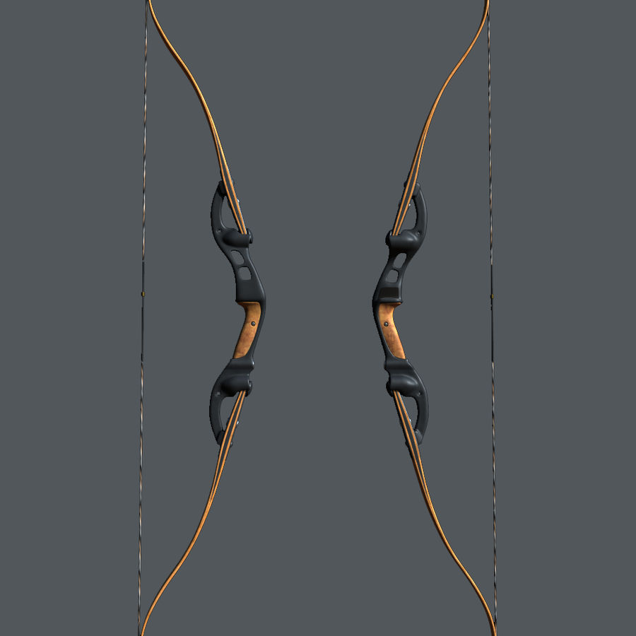 bow royalty-free 3d model - Preview no. 2