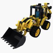 Lego Back Hoe 42004 3d model