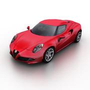 Alfa Romeo 4C 2015 3d model