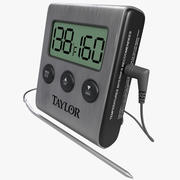 Digital Cooking Thermometer Taylor 3d model