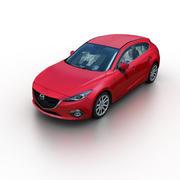 Mazda 3 2014 3d model