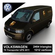 Volkswagen T5 Transporter UPS 2011 3d model