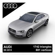 Audi S5 2013 3d model