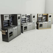 孩子们玩厨房 3d model