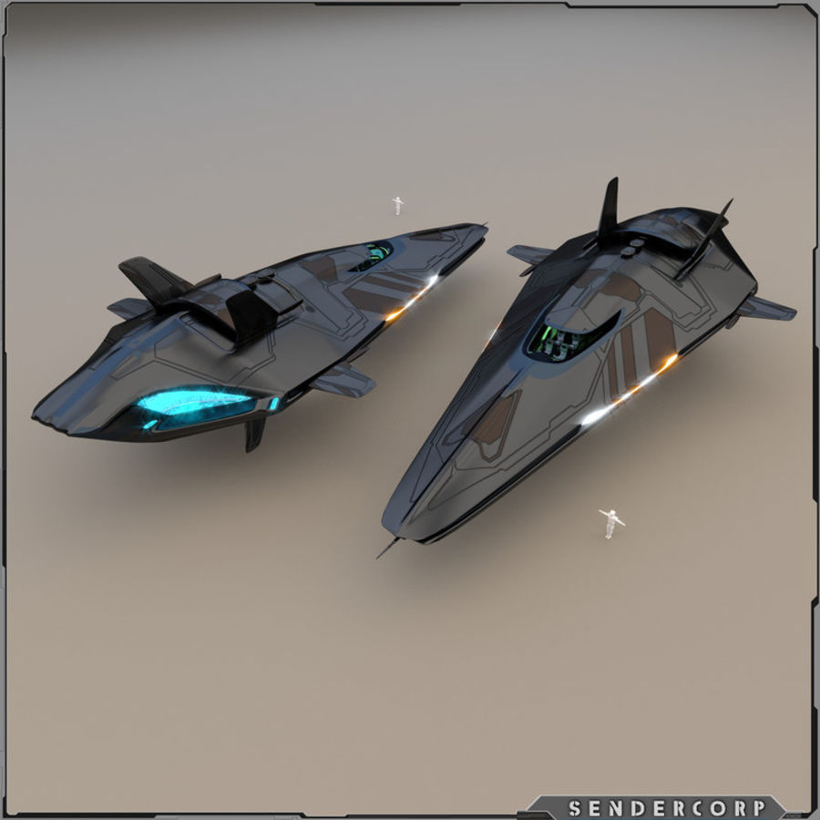 R3 Neeb Cruiser royalty-free 3d model - Preview no. 1