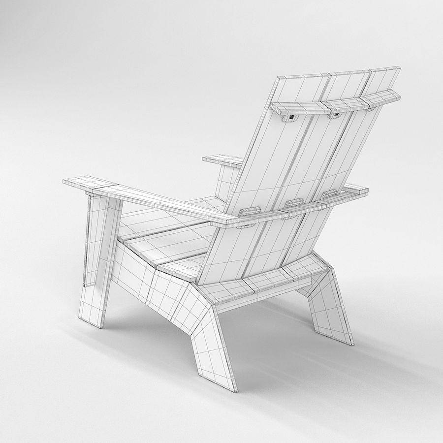 Adirondack Chair 3D Model $39 - .max .3ds .obj - Free3D