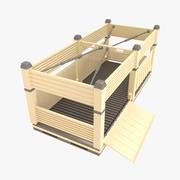 Container D 3d model