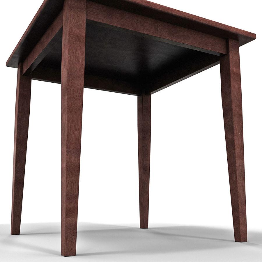 Modele Salle A Manger.Winsome Wood Square Table De Salle A Manger Modele 3d 49