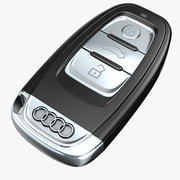 Audi autosleutel 3d model