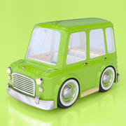 Cartoon Station Wagon 3d model