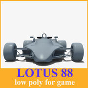 Lotus 88 racing Car 3d model