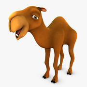Cartoon Camel Character 3d model