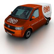 Volkswagen T5 Transporter TNT 2011 3d model