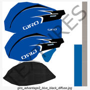 Race Race Helm Giro Advantage 2 Blauw 3d model