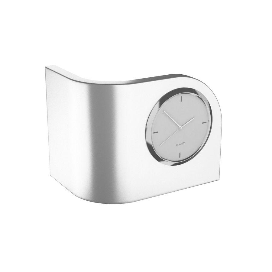 Desk Clock B royalty-free 3d model - Preview no. 2