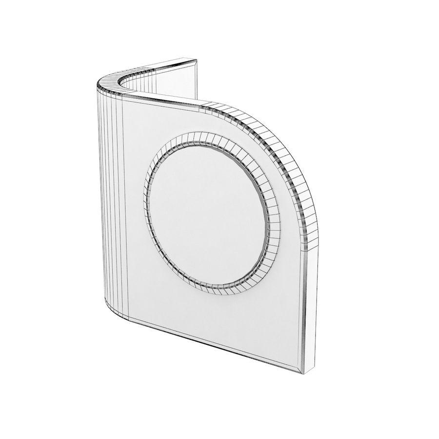 Desk Clock B royalty-free 3d model - Preview no. 9