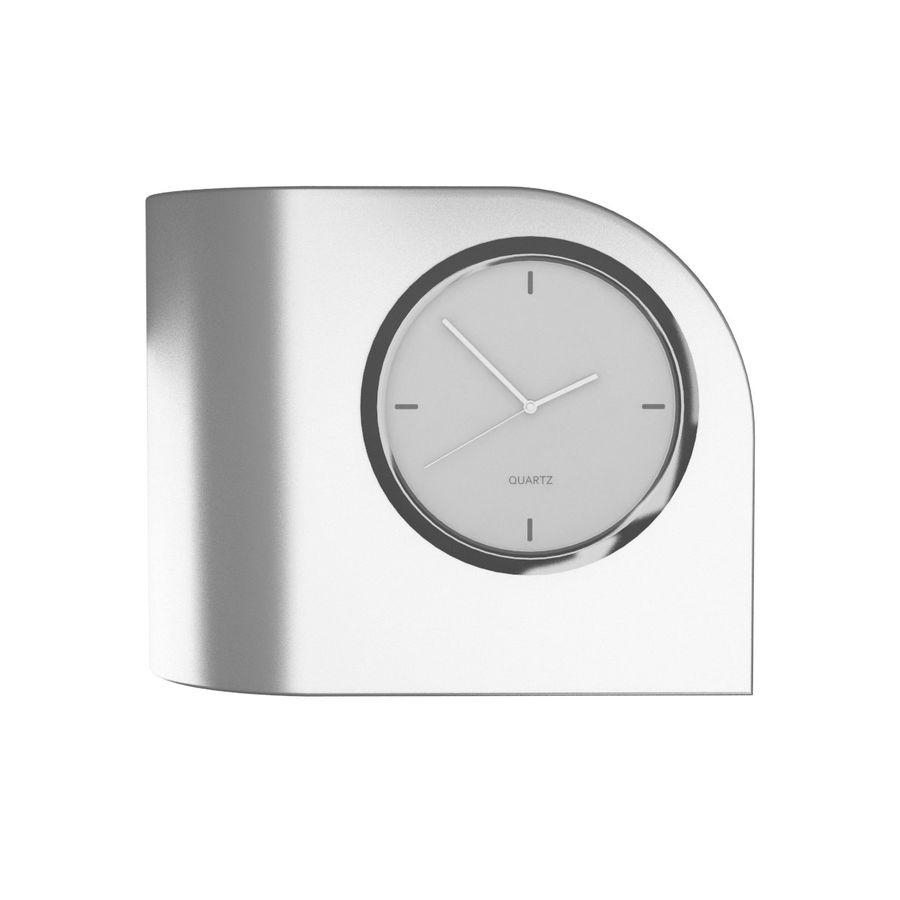 Desk Clock B royalty-free 3d model - Preview no. 3
